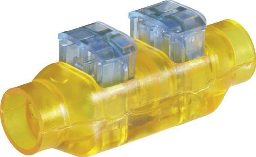 Schnellklemmverbinder flexibel: 0.33-0.5 mm² starr: 0.33-0.5 mm² Polzahl: 2 TE Connectivity 293545-4 1 St. Gelb, Blau