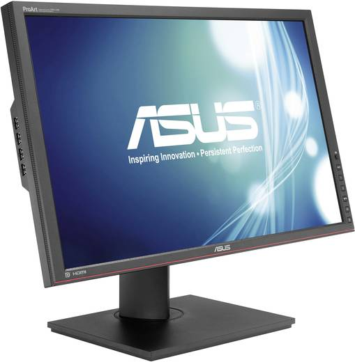 LED-Monitor 61.2 cm (24.1 Zoll) Asus PA249Q EEK B 1920 x 1200 Pixel WUXGA 6 ms DisplayPort, DVI, HDMI™, USB AH-IPS LED