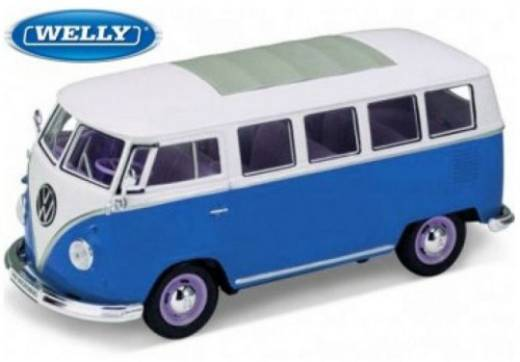1:24 Modellauto Welly VW Bus T1 1962