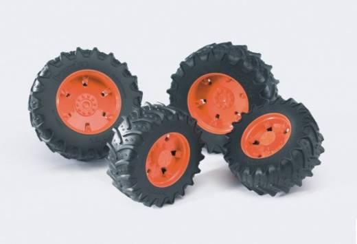 bruder Zwillingsbereifung Felgen orange PremiumPro