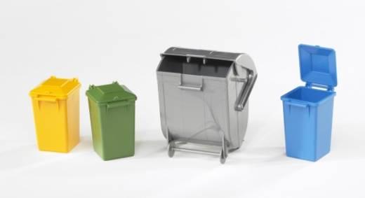 bruder Zubehör: Mülltonnen-Set