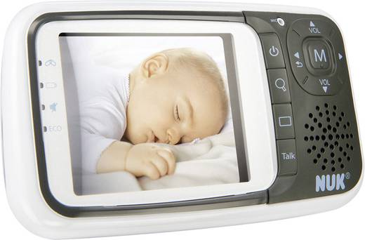 Babyphone mit Kamera Digital NUK 10256296 Babyphone ECO Control+Video 2.4 GHz