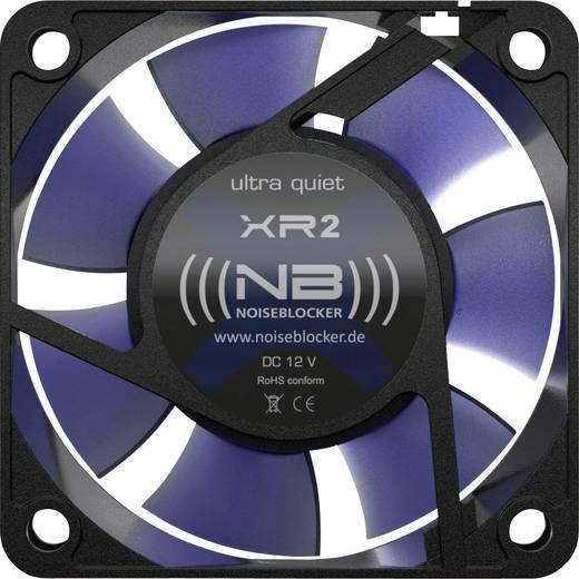 PC-Gehäuse-Lüfter NoiseBlocker ITR-XR-2 Schwarz, Blau (B x H x T) 60 x 60 x 25 mm