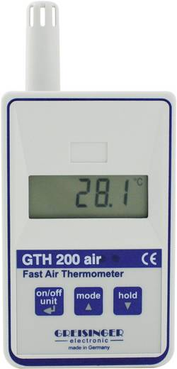 Temperatur-Messgerät Greisinger GTH 200 AIR -20 bis +70 °C Fühler-Typ Pt1000 Kalibriert nach: DAkkS