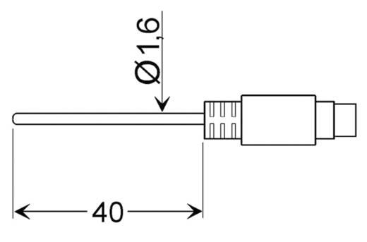 Greisinger GLF 401 MIN Luftfühler -25 bis 70 °C Fühler-Typ Pt100 Kalibriert nach DAkkS