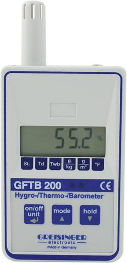 Luftfeuchtemessgerät (Hygrometer) Greisinger GFTB 200 0 % rF 100 % rF Kalibriert nach: ISO