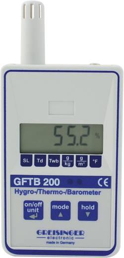 Precizní teploměr/vlhkoměr/tlakoměr Greisinger, GFTB 200 , 113535