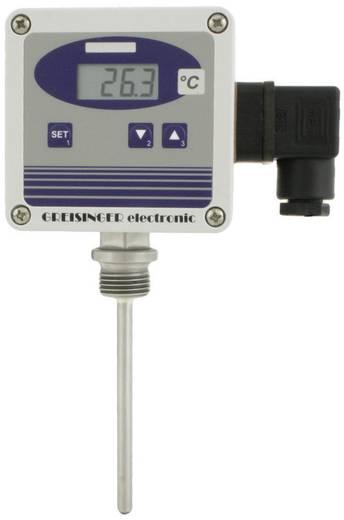 Temperatur-Messumformer Greisinger GTMU-MP, Ausführung 1 -50 bis +400 °C Fühler-Typ Pt1000 Kalibriert nach: Werksstanda
