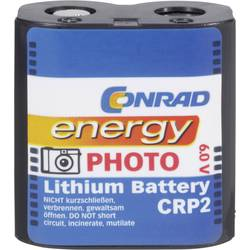 Lithiová fotobaterie Conrad energy CR-P2