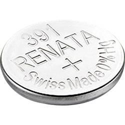 Knoflíková baterie na bázi oxidu stříbra Renata SR55 391.CU MF, velikost 391, 50 mAh, 1,55 V