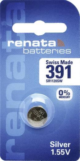 Knopfzelle 391 Silberoxid Renata SR55 Hochstromfähig 50 mAh 1.55 V 1 St.