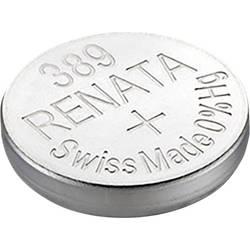 Knoflíková baterie na bázi oxidu stříbra Renata SR54, velikost 389, 80 mAh, 1,55 V