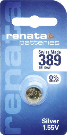 Knopfzelle 389 Silberoxid Renata SR54 Hochstromfähig 80 mAh 1.55 V 1 St.