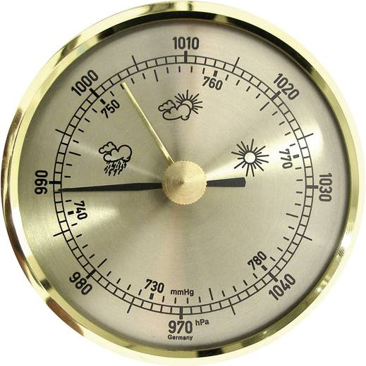 TFA Einbau Barometer analog TFA 29.4016 Messing