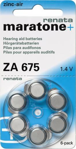 Renata Hörgerätebatterien ZA675 maratone+