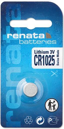 Knopfzelle CR 1025 Lithium Renata CR1025 30 mAh 3 V 1 St.