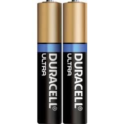 Minibaterie (AAAA) mini (AAAA) alkalicko-mangánová, Duracell MN2500 Ultra, 600 mAh, 1.5 V, 2 ks