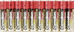 Mikrotužková batérie typu AAA alkalicko/mangánová Camelion Plus LR03, 1250 mAh, 1.5 V, 10 ks