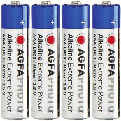 Batteria Ministilo (AAA) Alcalina/manganese AgfaPhoto LR03 1.5 V 4 pz.