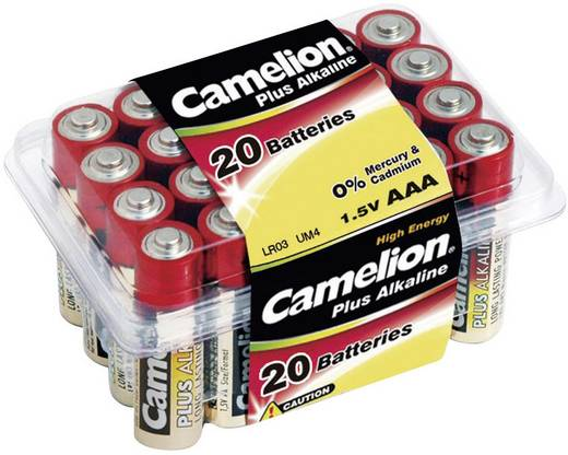 Mignon (AA)-Batterie Alkali-Mangan Camelion LR06 1.5 V 20 St.