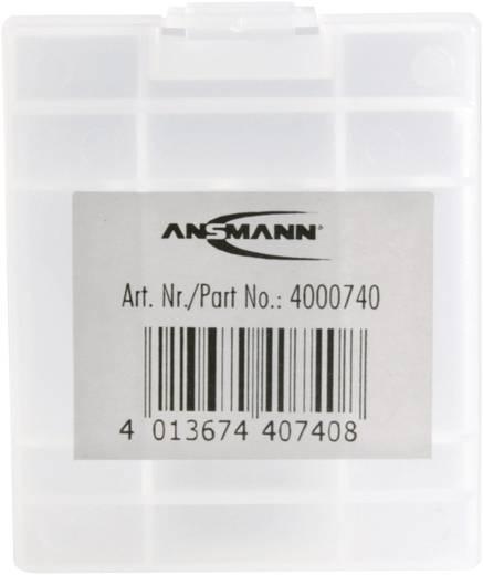Batteriebox Micro (AAA), Mignon (AA) Ansmann Boîte de rangement pour 4 piles LR6/LR03 (L x B x H) 67 x 55 x 22 mm