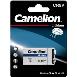 Image of Camelion 6LR61 9 V Block-Batterie Lithium 1200 mAh 9 V 1 St.