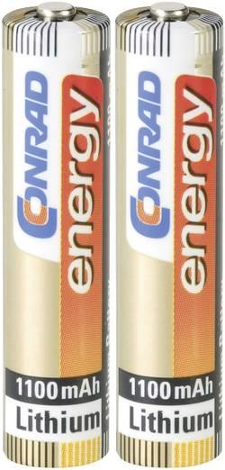 Lithiová baterie Conrad energy Extreme Power, typ AAA, 2 ks