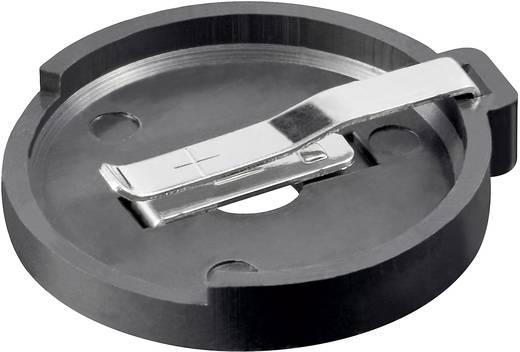Knopfzellenhalter 1 CR 2425, CR 2430 Horizontal, Printlötfahnen (L x B x H) 30 x 27.8 x 4.7 mm Goobay 23204