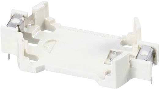 Knopfzellenhalter 1 CR 2450N Horizontal, Durchsteckmontage THT (L x B x H) 33 x 24.5 x 7.3 mm Renata 701108
