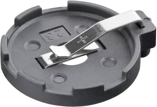 Knopfzellenhalter 1 CR 2320, CR 2325, CR 2330, CR 2354 Horizontal, Printlötfahnen (L x B x H) 29 x 25.4 x 8.8 mm Goobay 23310