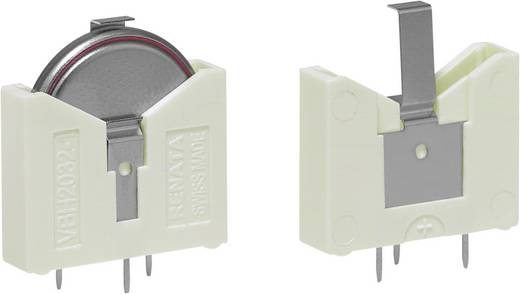Knopfzellenhalter 1 CR 2032 Horizontal, Durchsteckmontage THT (L x B x H) 24 x 23 x 6 mm Renata 700759