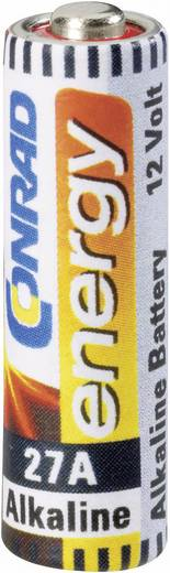 Spezial-Batterie 27 A Alkali-Mangan Conrad energy 27 A 12 V 21 mAh 1 St.