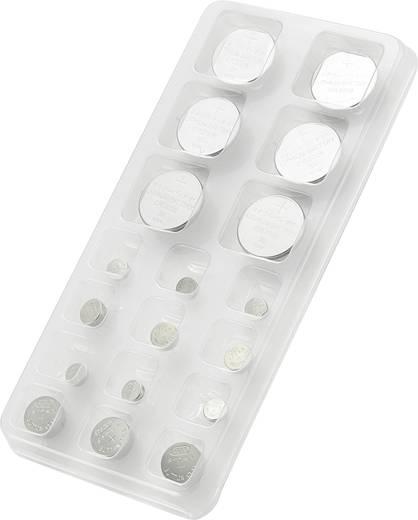 Conrad energy Knopfzellen-Set je 3x AG 1, AG 3, AG 4, AG 13 sowie je 2x CR2016, CR2025, CR2032