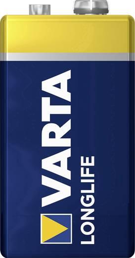 9 V Block-Batterie Alkali-Mangan Varta Longlife 6LR61 9 V 1 St.
