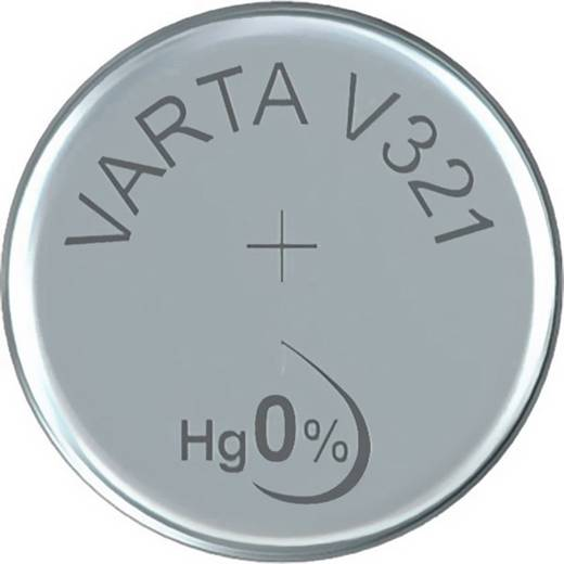 Knopfzelle 321 Silberoxid Varta Electronics SR65 13 mAh 1.55 V 1 St.