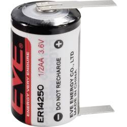 Špeciálny typ batérie 1/2 AA lítium, EVE ER14250T, 1200 mAh, 3.6 V, 1 ks
