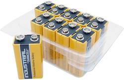 Image of 9 V Block-Batterie Alkali-Mangan Duracell Industrial 6LR61 9 V 10 St.