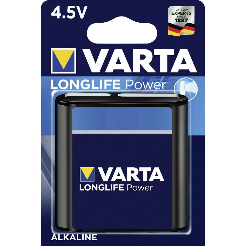 pile plate alcaline s varta high energy 3lr12 6100 mah 4 5 v 1 pc s sur le site internet. Black Bedroom Furniture Sets. Home Design Ideas