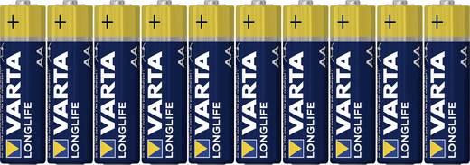 Mignon (AA)-Batterie Alkali-Mangan Varta Longlife LR06 2800 mAh 1.5 V 8 St.