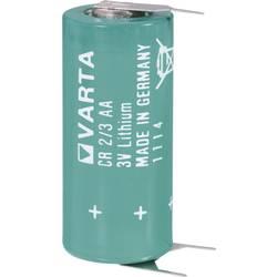 Špeciálny typ batérie CR 2/3 AA SLF spájkovacie kolíky v tvare U lítiová, Varta CR2/3 AA SLF, 1350 mAh, 3 V, 1 ks