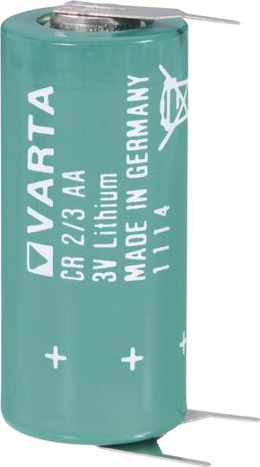 Spezial-Batterie CR 2/3 AA SLF U-Lötpins Lithium Varta CR2/3 AA SLF 3 V 1350 mAh 1 St.