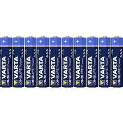 Alkalická baterie Varta High Energy, typ AAA, sada 10 ks