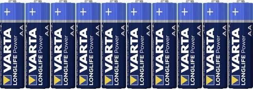 Mignon (AA)-Batterie Alkali-Mangan Varta Longlife Power LR06 2960 mAh 1.5 V 10 St.