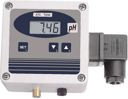 Greisinger GPHU 014 MP/BNC pH-Messumformer ohne Elektrode GPHU 014 MP/BNC 0,02 pH ± 1 Digit (bei Nenntemperatur = 25 °C)