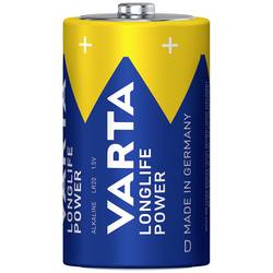 Alkalická/manganová baterie Varta High Energy, typ D, sada 2 ks