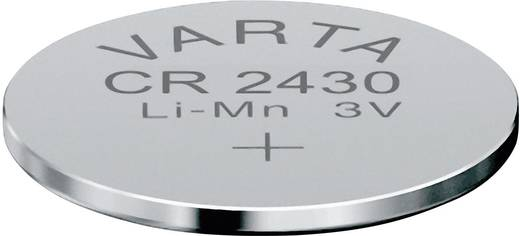Knopfzelle CR 2430 Lithium Varta CR2430 280 mAh 3 V 1 St.