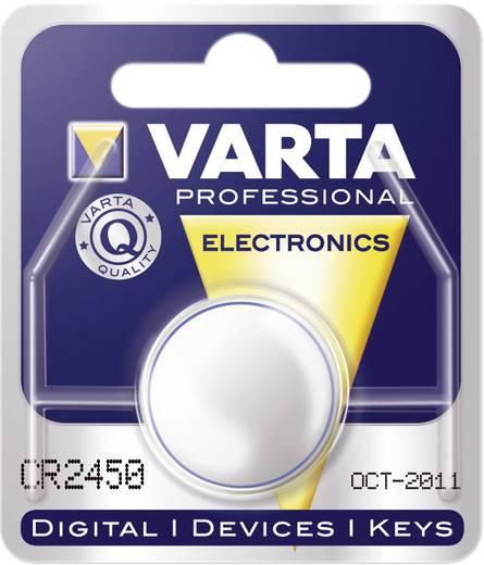 Knopfzelle CR 2450 Lithium Varta Electronics CR2450 560 mAh 3 V 1 St.