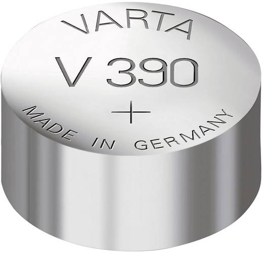 Knopfzelle 390 Silberoxid Varta Electronics SR54 80 mAh 1.55 V 1 St.