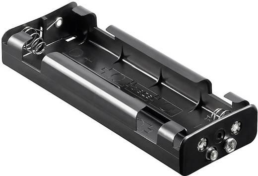 Batteriehalter 6x Baby (C) Druckknopfanschluss (L x B x H) 159 x 57.3 x 24.9 mm Goobay 10876