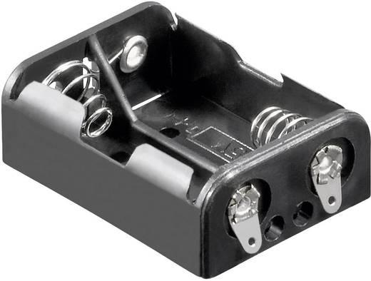 Batteriehalter 2x Lady (N) Lötanschluss (L x B x H) 38.2 x 27.5 x 14.1 mm Goobay 10877